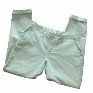 A New Day Mint Green Stretch Chino Pants